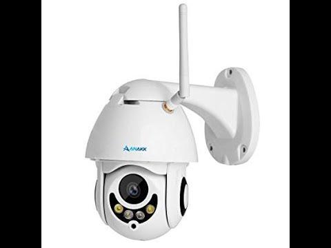 2018 Anakk PTZ Wireless WiFi Security Camera