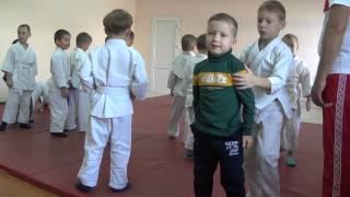 1.11.15 Открытое занятие по дзюдо: разминка. 5 лет Centre Judo Kids. Feodosiya