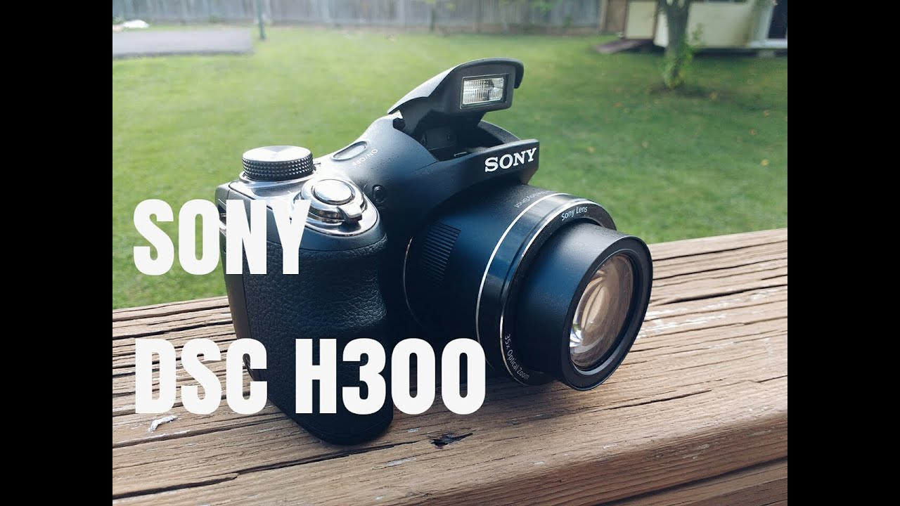 Sony DSC H300 Camera Review