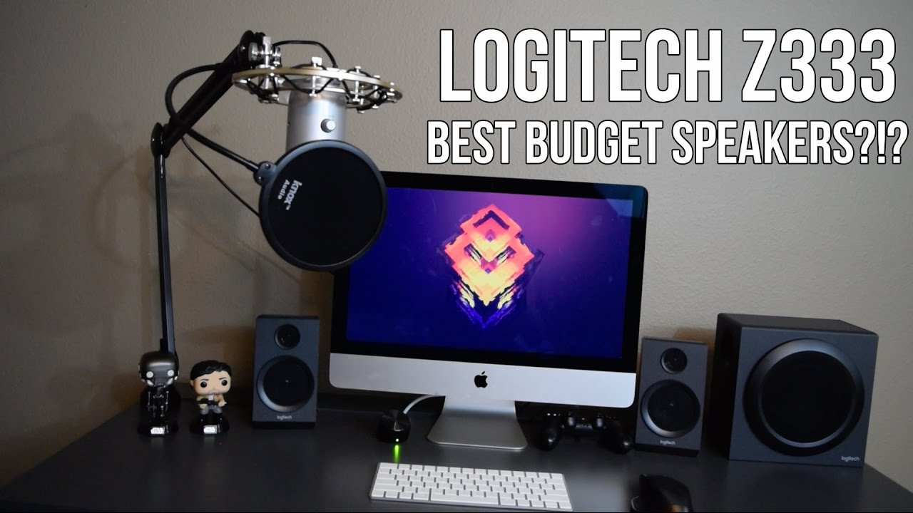 Logitech Z333 - Review + Sound Test - Best Budget Speakers?