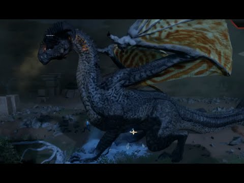 The high dragon in hissing wastes dragon age inquisition youtube