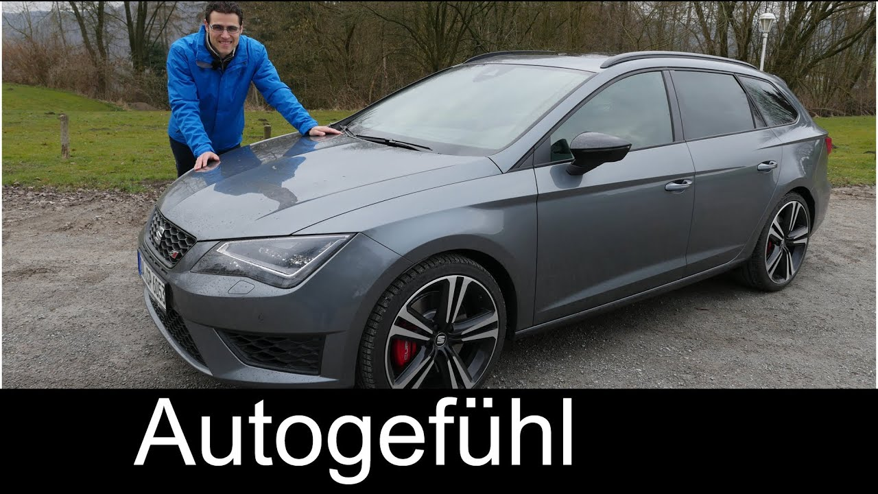 new seat leon st cupra 280 full review test driven 2015. Black Bedroom Furniture Sets. Home Design Ideas