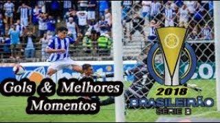 CSA x Figueirense - Gols & Melhores Momentos Brasileirão Serie B 2018 7ª Rodada