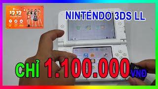 Nintendo 3DS LL giá chỉ 1.100.000 VNĐ   Chơi ngon và cách cài game cho máy Hack