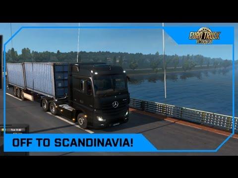 Drawyah plays Euro Truck Simulator 2 - Off to Scandinavia!|Episode 6