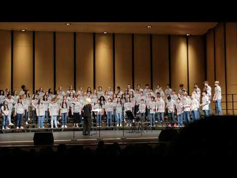 Russellville Junior High School  Appreciation  Concert 2018 #2
