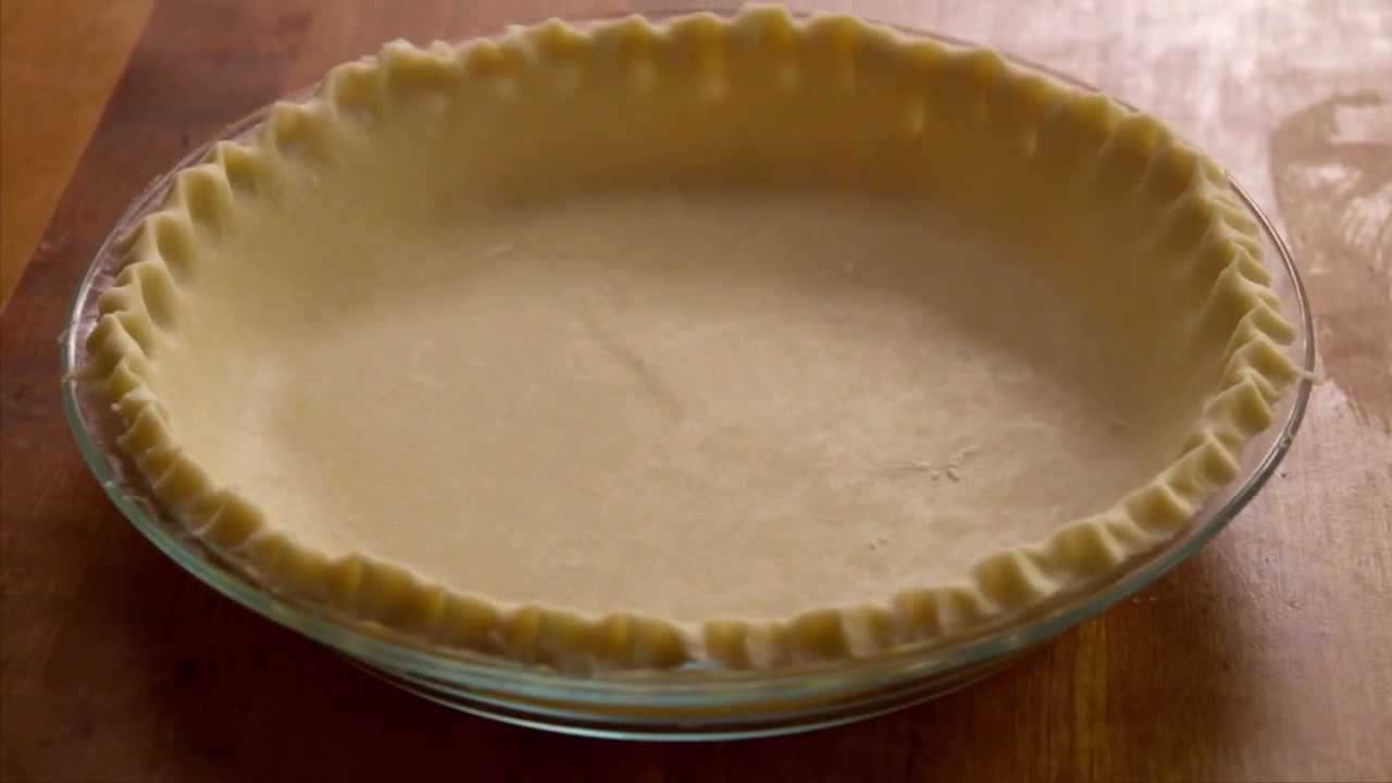 Easy pie crust recipes with butter