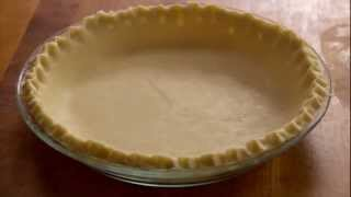 Pie Crust Recipe - How To Make Flaky Butter Pie Crust