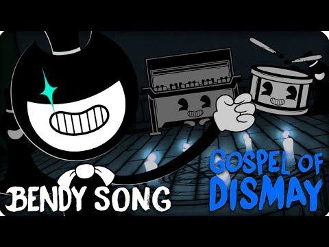 ANTI-NIGHTCORE | BENDY CHAPTER 2 SONG (GOSPEL OF DISMAY) LYRIC VIDEO - DAGames
