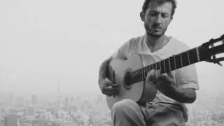 Flamenco Tarantas against the Tokyo Skyline