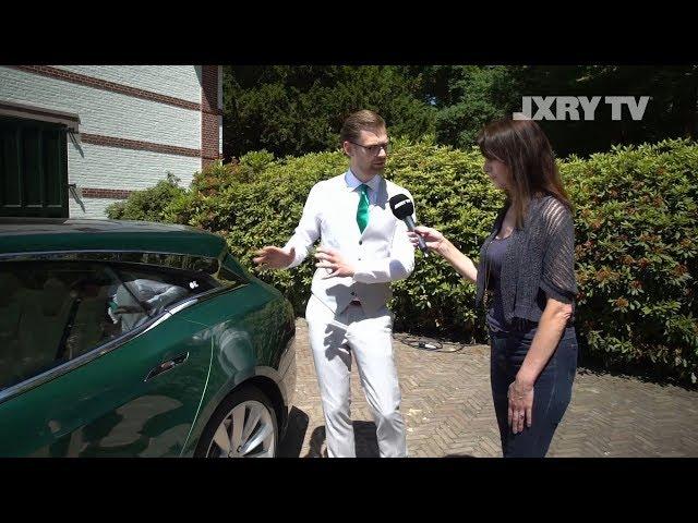 Niels van Roij Design - Tesla based Shooting Brake on LXRY TV