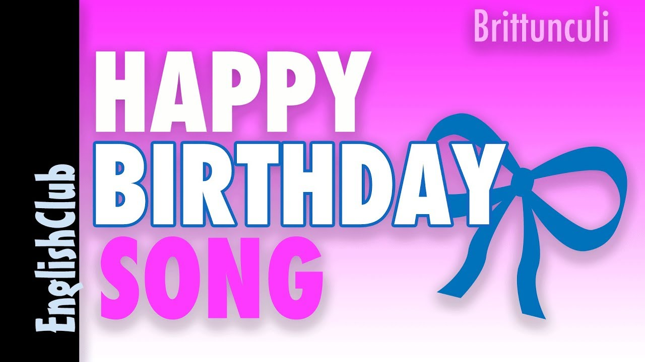 Happy Birthday Song - YouTube