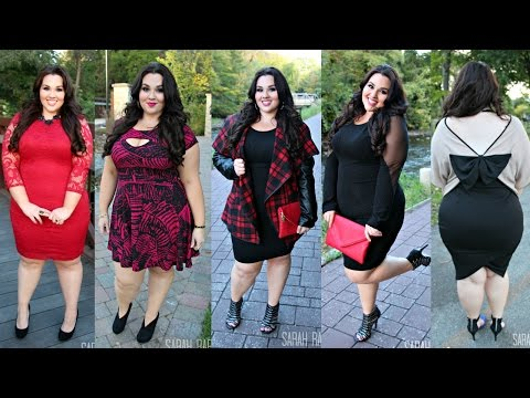 fall-dresses-lookbook-|plus-size-fashion|