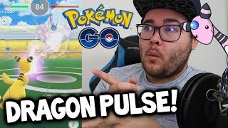 NEW MOVE SNEAK PEEK: *DRAGON PULSE* FOR AMPHAROS IN POKÉMON GO! (Pokémon GO Community Day)