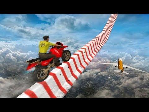 SKY BIKE STUNTS GAME 3D #Dirt Bike Racing Game Free Bike Games #Motor Cycle Race Game #Games To Play