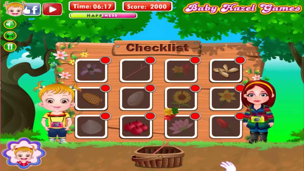 Best Free Game Online Baby Hazel Nature Explorer Level2 Youtube