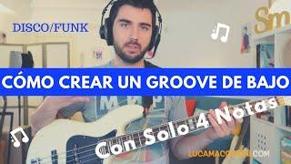 Cómo Crear un Groove/Línea de Bajo - #1 Disco/Funk (L#25) - con Luca Macchioni