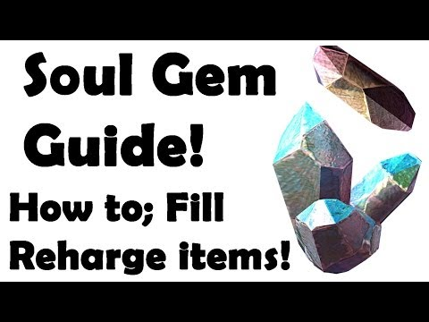 Elder Scrolls Online: How to use Soul Gems (Fill, Recharge, Revive)