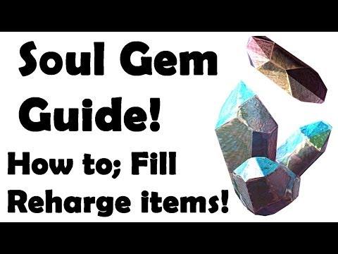 Elder Scrolls Online: How to use Soul Gems (Fill, Recharge, Revive)