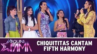 Máquina da Fama (29/06/15) - Meninas de Chiquititas cantam Fifth Harmony