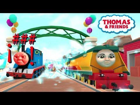 Tomas El Tren En Español GoGo - Thomas No Puede Ganar A Rebecca!! Completo Latino