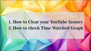 How to check YouTube watch history with date and time?