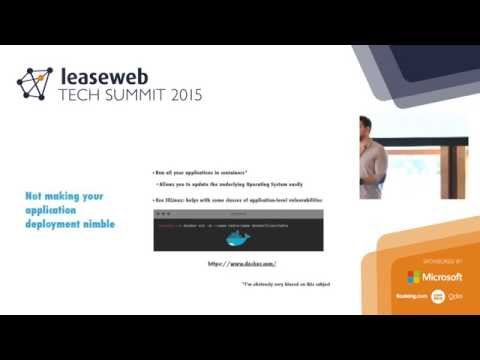 The security mistakes that will haunt your startup - Diogo Mónica, LeaseWeb Tech Summit 2015
