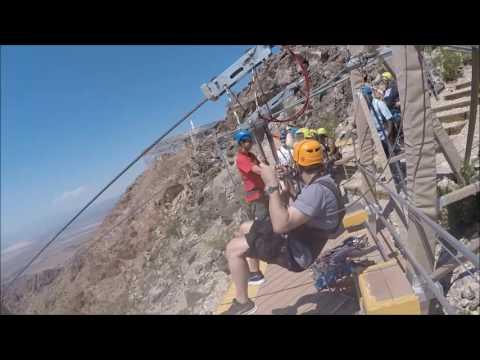 Bootleg Canyon Zipline