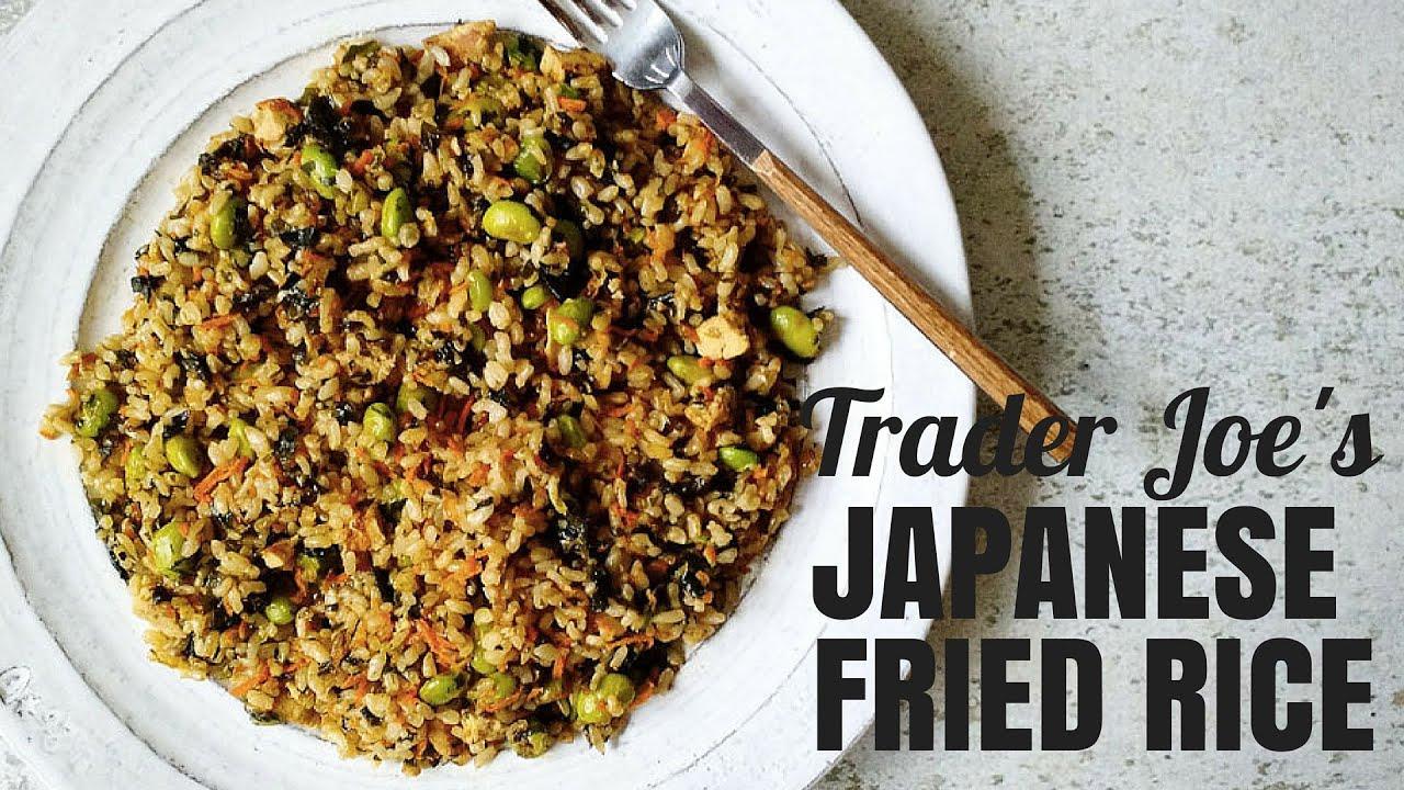Trader joes japanese fried rice youtube trader joes japanese fried rice ccuart Image collections