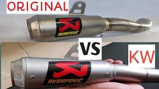 Perbedaan AKRAPOVIC GP SLOVENIA VS AKRAPOVIC KW IMPORT