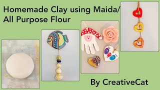how to make homemade air dry clay very easy abs