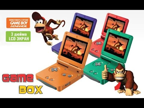 Игры Game Boy Advance на детской приставке EXEQ Gamebox