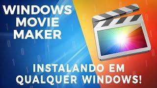 Baixando e Instalando o Movie Maker em Qualquer Windows [2017]