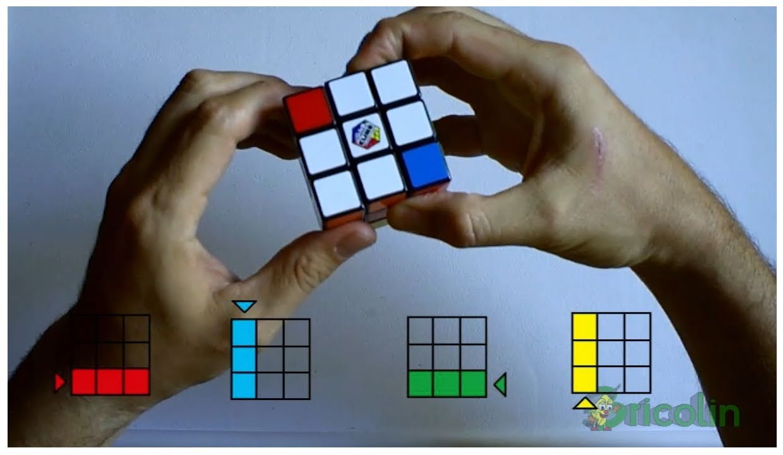Cómo Resolver El Cubo De Rubik De Manera Sencilla Parte 1 Hd Bricolaje Y Manualidades Youtube