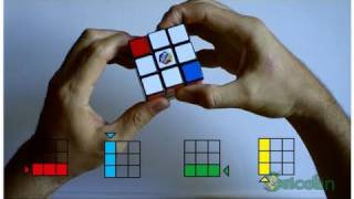 Cómo resolver el cubo de Rubik de manera sencilla (parte 1) - HD -Bricolaje y Manualidades thumbnail