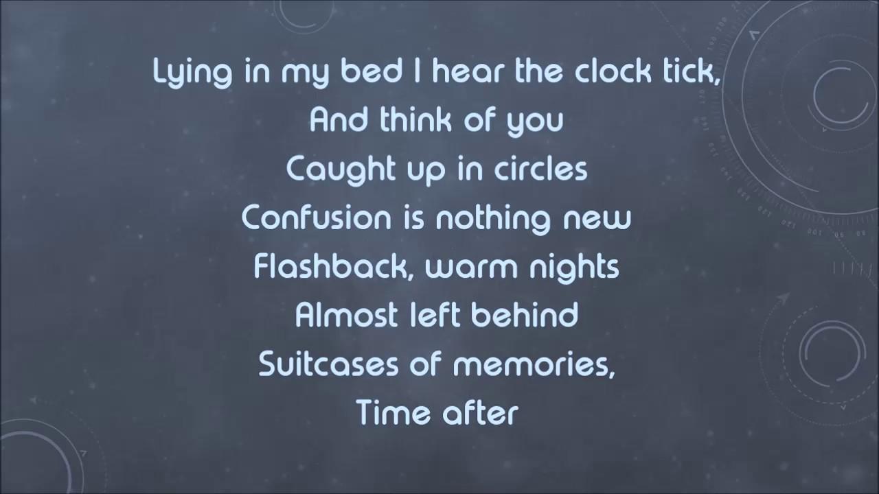 ANGEL - TIME AFTER TIME LYRICS - SongLyrics.com