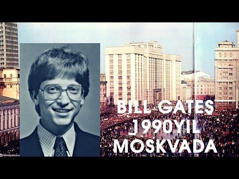 BILL GATES 1990 YIL MOSKVADA  БИЛЛ ГАТЕС 1990 ЙИЛ МОСКВАДА