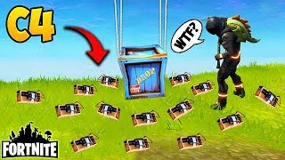 *NEW* EPIC C4 TROLL! - Fortnite Funny Fails and WTF Moments! #135 (Daily Moments)
