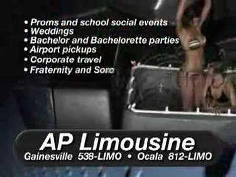 AP Limousine Service Gainesville Ocala FL Party Bus