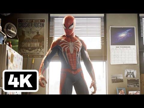 Marvel's Spider-Man Paris Games Week 2017 Trailer (4K)