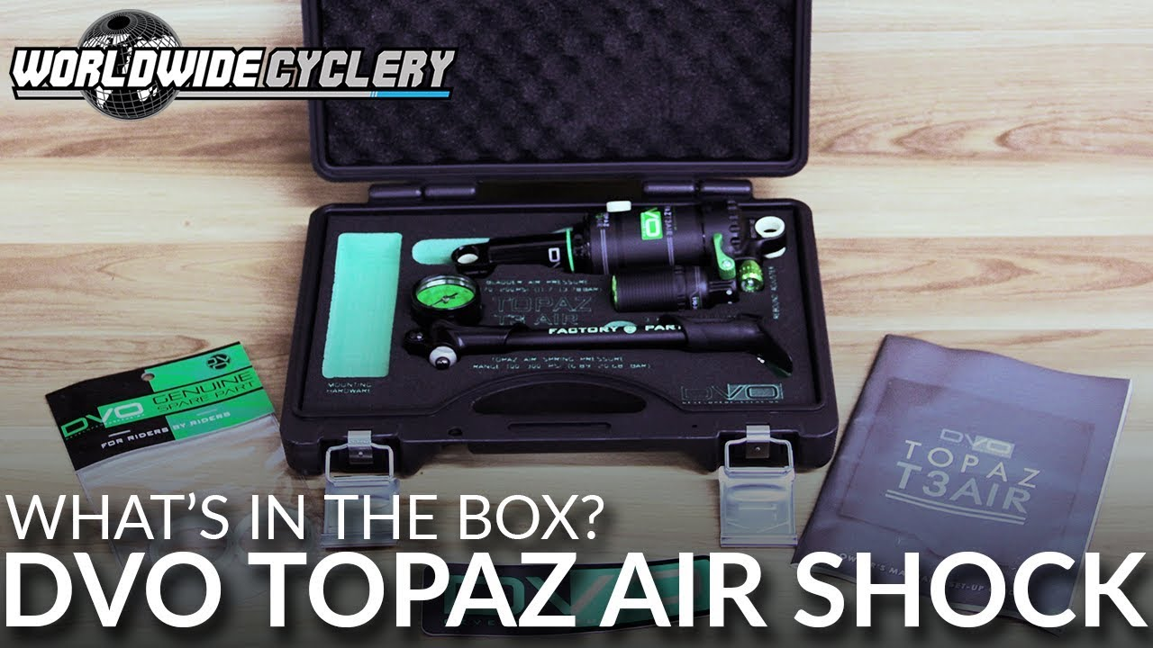 DVO Topaz Air Shock: 216 x 57mm, Specialized Enduro