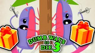 Dumb Ways To Die 3 - THE END - New Update & Epic Gifts!! (iPhone Gameplay Video)