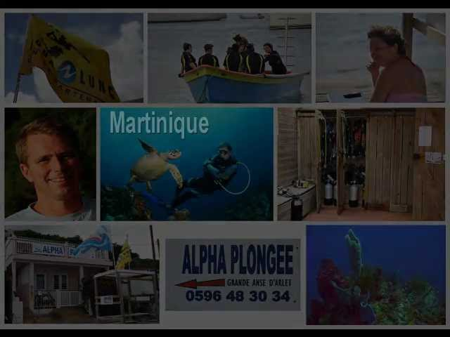 Alpha Plongée en Martinique 1