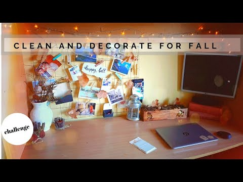 Clean and decorate for fall | EASY DIY IDEAS FOR AUTUMN