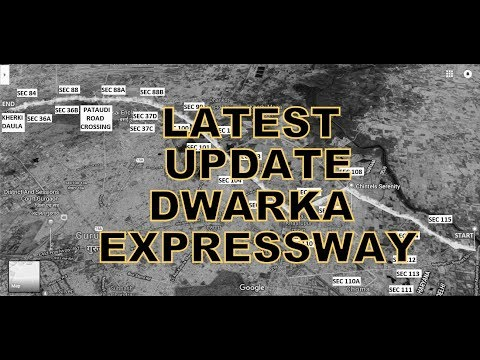 Dwarka Expressway Latest Update: Driving from Delhi Border to Kherki Daula Toll, near NH8, Gurgaon