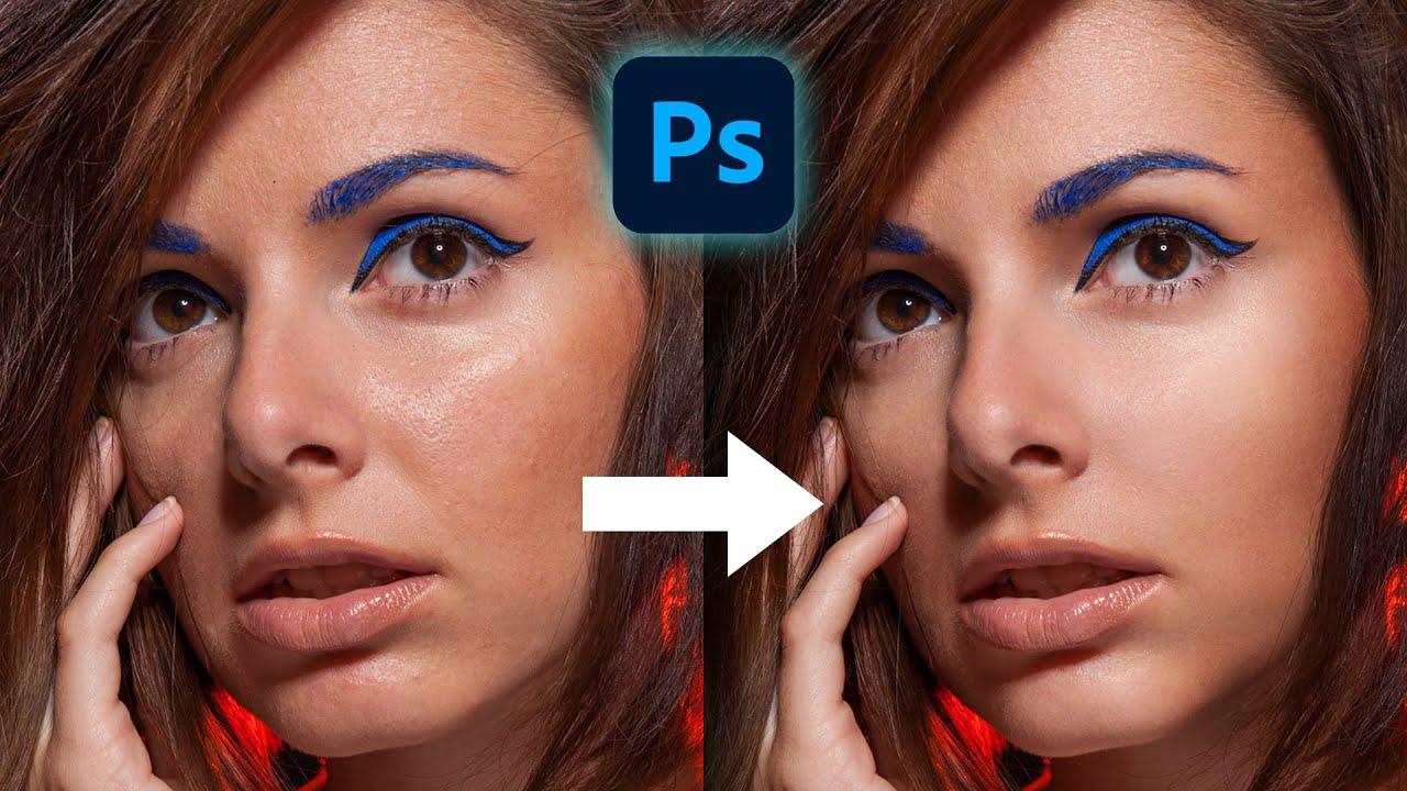 Come Ritoccare la Pelle in modo Professionale in Photoshop - Pelle Liscia e Morbida