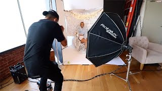 i had a photoshoot..here's behind the scenes thumbnail