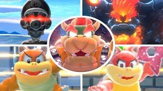 Super Mario 3D World + Bowser's Fury - All Bosses (No Damage)