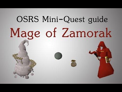 OSRS Mage of Zamorak miniquest unlock ass