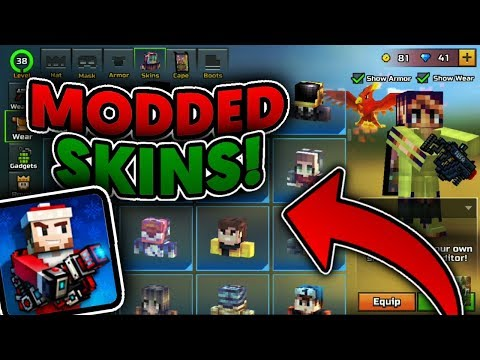 How To Get Modded And Shaded Skins In Pixel Gun 3D 15.8.1! (2019 - Working No Root)